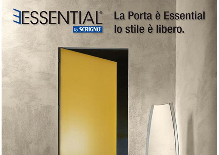Porte scorrevoli e a battente filo parete Essential by Scrigno
