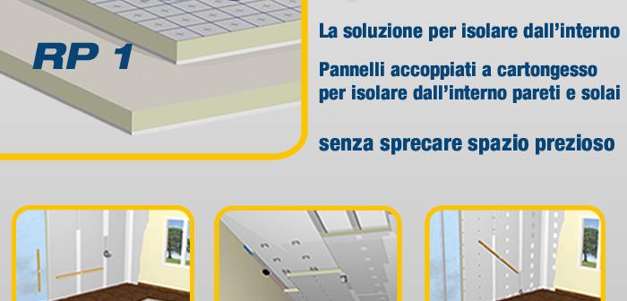 Isolamento termico e soluzioni in cartongesso stiferite - Isolare il soffitto dall interno ...